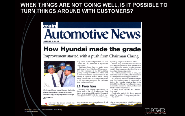 How Hyundai did it
