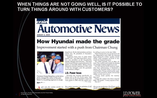 How Hyundai did it